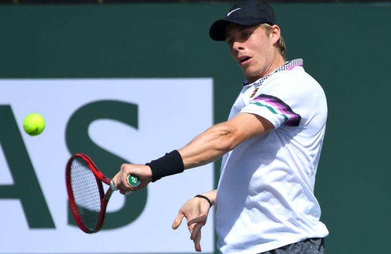 Shapovalov: «Estou muito chateado com o que o Federer disse das esquerdas a uma mão»
