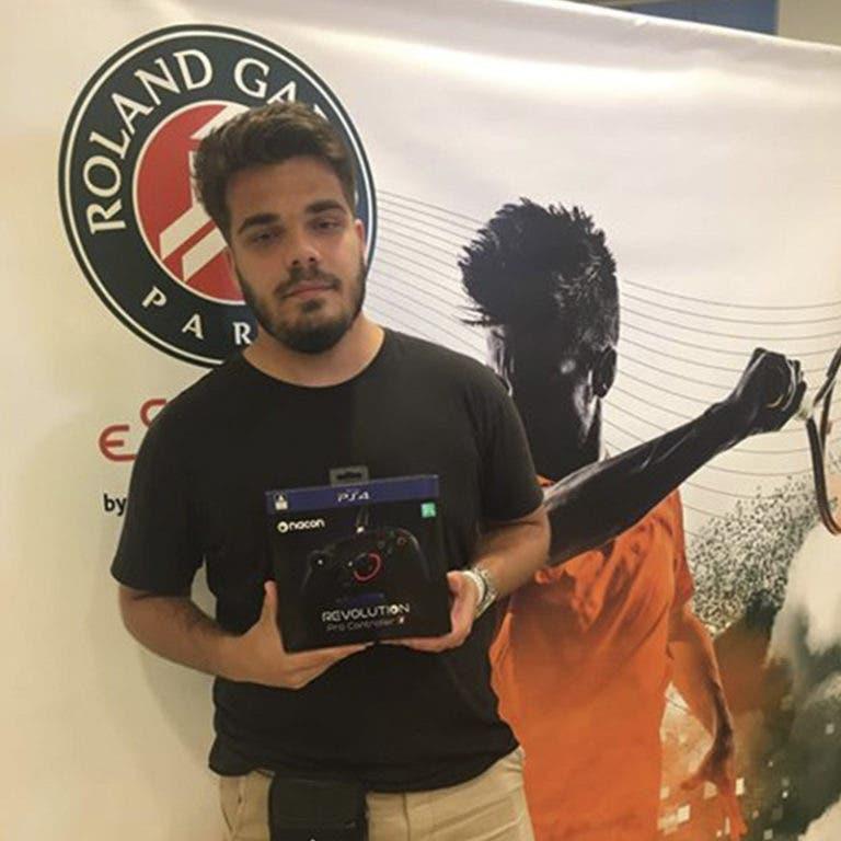 "Luís ""Luis4win"" Miguel Silvana final nacional do Roland-Garros eSeries by BNP Paribas"