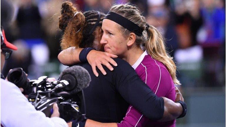 Azarenka: «A Serena é a minha adversária preferida. Quando é fácil, é enfadonho»