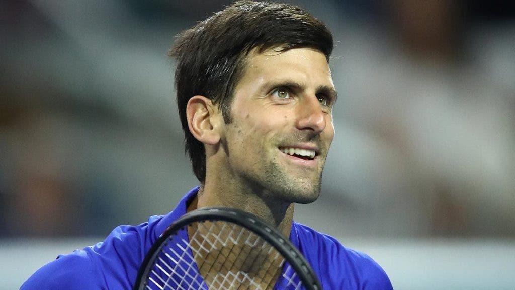 Djokovic sobre Tomic: «É difícil jogar contra alguém que não se consegue prever»