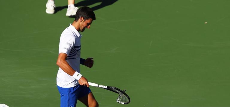 Djokovic 'culpa' batalha fora do court com Federer, Nadal (e companhia) pela derrota em Indian Wells