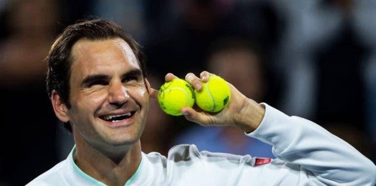 Federer chega à terra batida como o melhor tenista de 2019