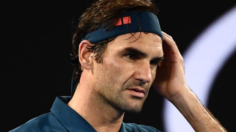 Federer recorda momento mais difícil da carreira: «Não conseguia acreditar no que estava a acontecer»