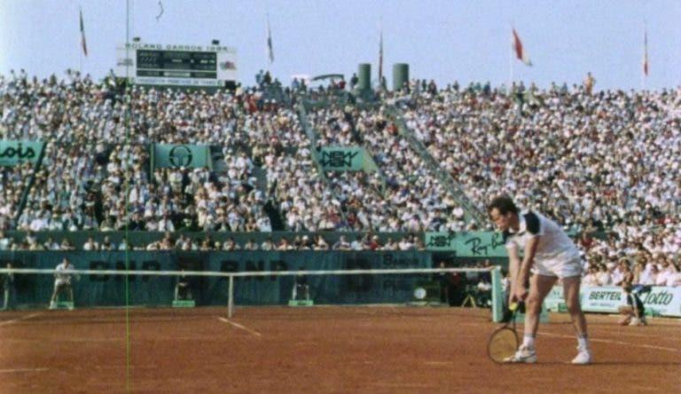 Espaço Nimas exibe esta quarta-feira documentário único sobre final de Roland Garros de 1984 entre McEnroe e Lendl
