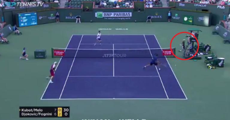 [VÍDEO] Fognini faz o impossível e leva Djokovic (e os irmãos) à loucura