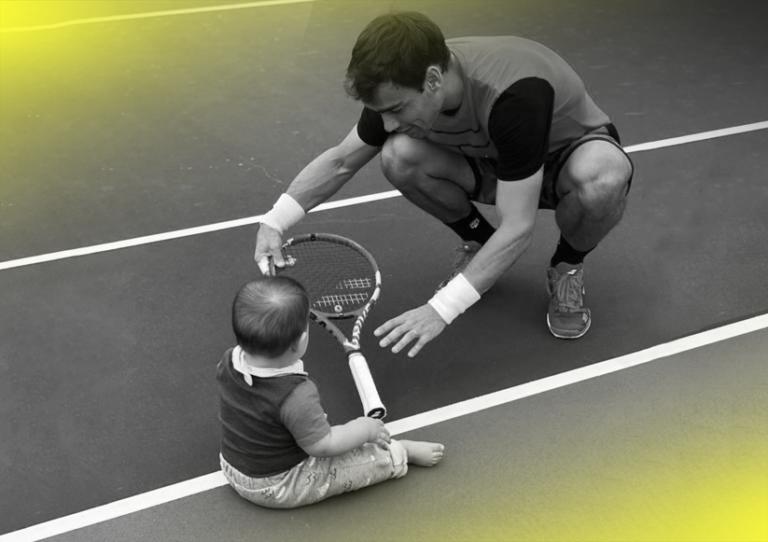 Dia do Pai: Os pais babados do circuito do ténis