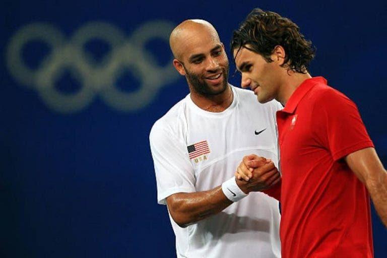 Blake e a 'humilhação' com as filhas pelos 100 títulos de Federer: «Obrigado por me deixares mal visto, Roger!»