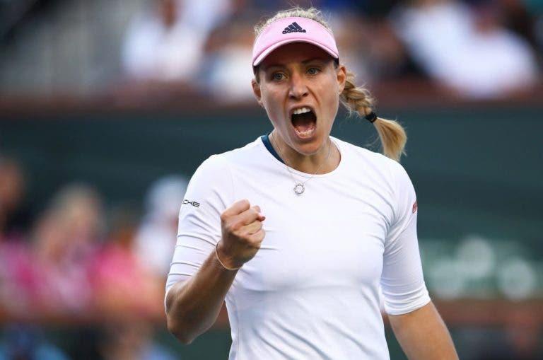 Kerber impõe 1ª derrota em dois meses a Bencic e garante final em Indian Wells