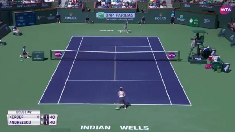[VÍDEO] Kerber e Andreescu estão a dar show: eis um dos melhores pontos