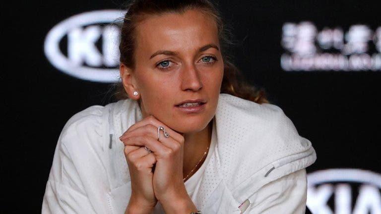 """Kvitova """"satisfeita"""" com a pena apanhada pelo homem que a esfaqueou"""