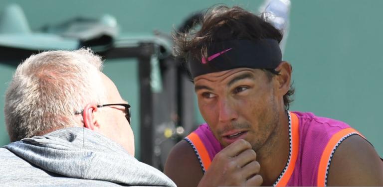 Toni Nadal: «O Rafa não é um jogador de ténis, é uma pessoa lesionada que joga ténis»