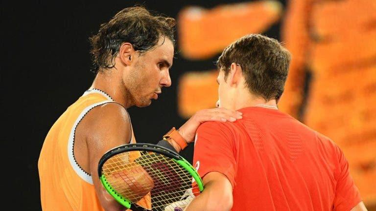 De Minaur: «É uma honra para mim defrontar o Nadal, Djokovic e Federer»