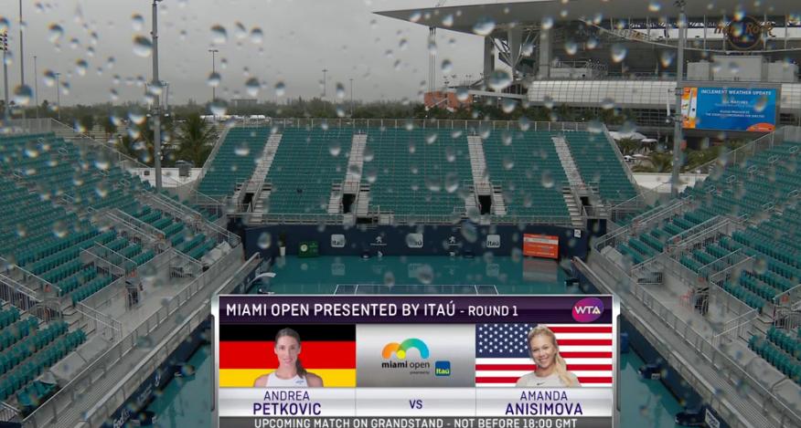 Toda (!) a jornada de Miami foi cancelada devido à chuva