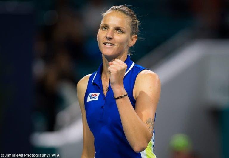 Pliskova: «Todas as vitórias são importantes, tenho grandes expectativas nas provas asiáticas»