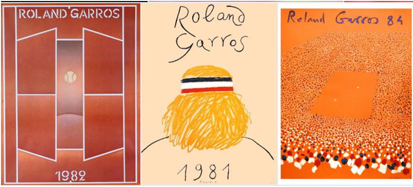 Já conhece o (abstrato) cartaz de Roland Garros 2019?