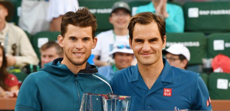 Thiem e a operação de Federer: « Adoro vê-lo jogar, estou triste por estar fora até Wimbledon»