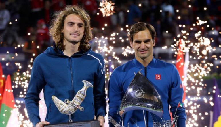 Tsitsipas: «Federer merece todo o apoio que tem, mas às vezes é demais»