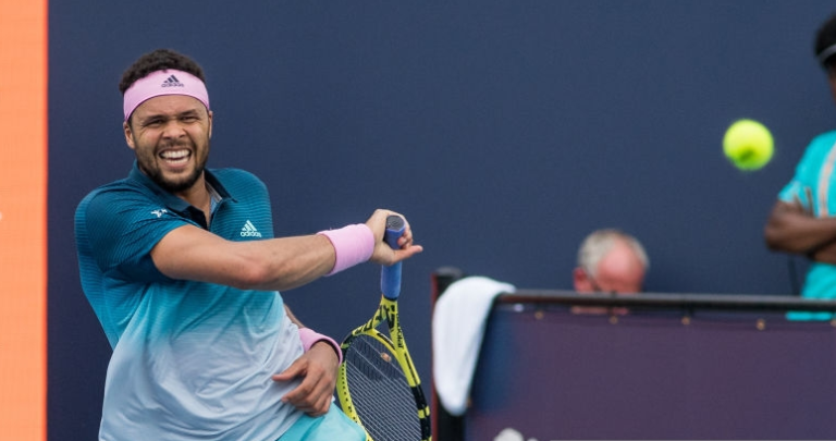 Catorze anos depois, Tsonga voltou a perder num qualifying
