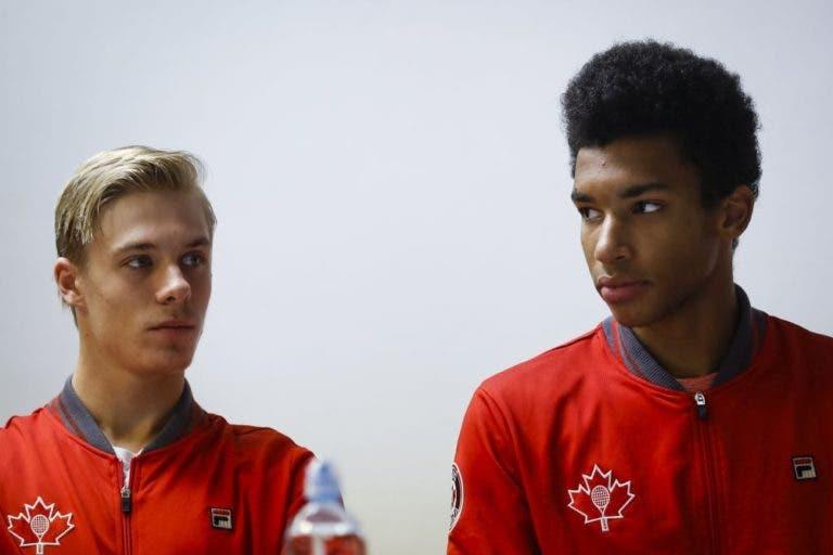 Shapovalov e Félix Auger-Aliassime vão jogar juntos em Barcelona
