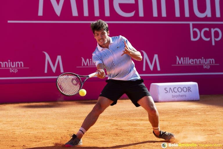 João Domingues eliminado na primeira ronda do Challenger de Génova