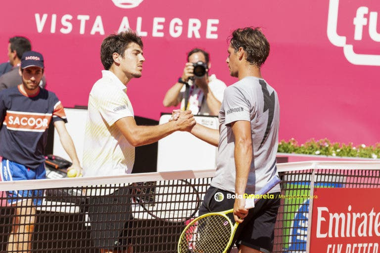 Domingues vence e garante lugar no quadro principal do Estoril Open
