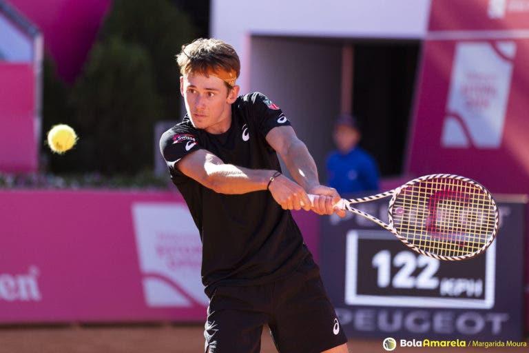 Alex De Minaur elogia João Domingues na 'despedida' do Estoril Open