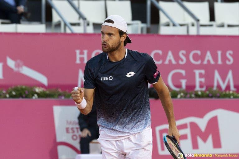 João Sousa tem garantido novo máximo ATP de pares (melhor do que o recorde de singulares)