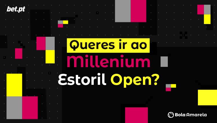 Vai ao Millennium Estoril Open 2019 com o Bola Amarela e a Bet.pt