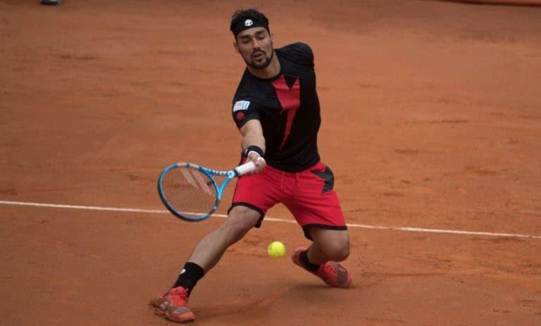 Fabio Fognini desiste do ATP 500 de Barcelona