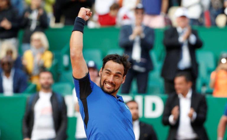 Fognini: «Espero classificar-me para as ATP Finals em 2020»