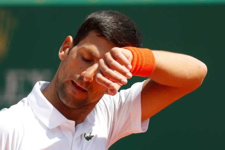 Está fora! Djokovic perde para Medvedev e é eliminado nos 'quartos' em Monte Carlo