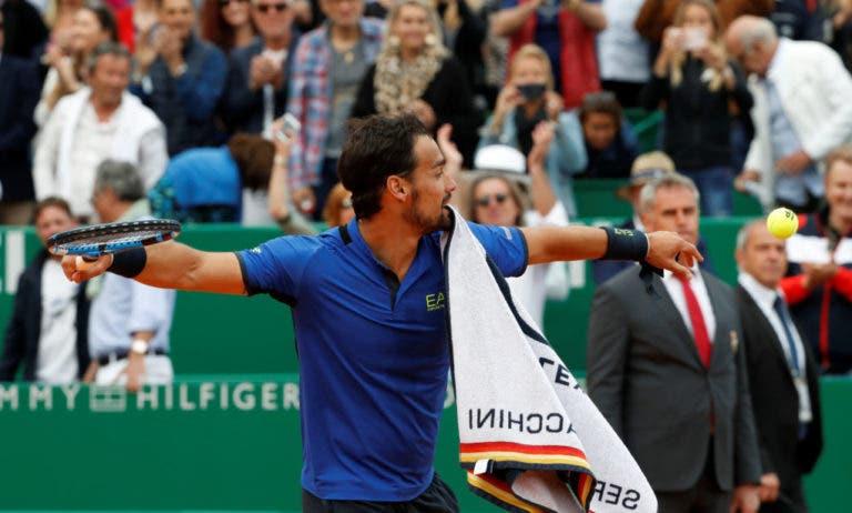 [VÍDEO] O momento em que Fognini conquistou o primeiro Masters 1000 da carreira