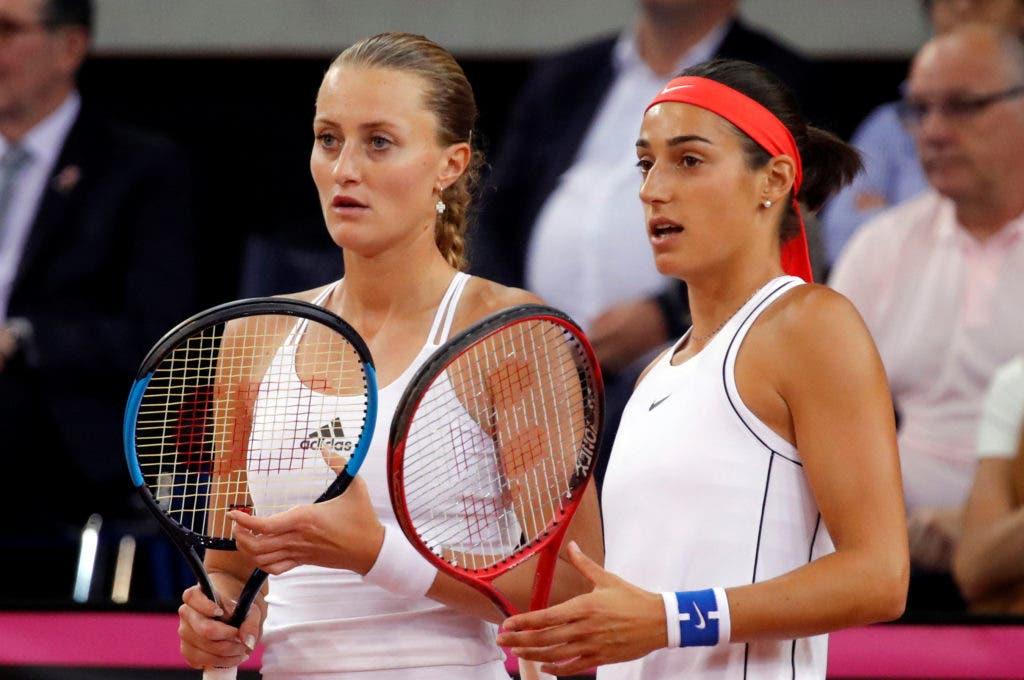 Juntas dois anos depois, Mladenovic e Garcia superam conflitos e metem França na final da Fed Cup