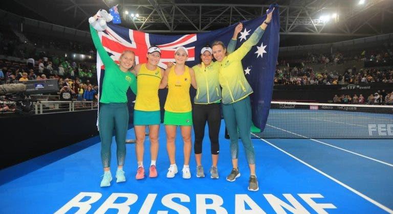 Austrália regressa à final da Fed Cup 26 anos depois