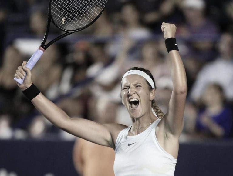 Azarenka é a única tenista do top 100 que não está inscrita no Australian Open