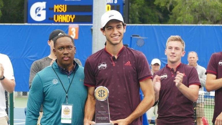 MVP e recordista: Nuno Borges é campeão de conferência na NCAA