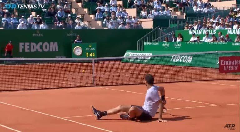 [VÍDEO] Dimitrov protagoniza um dos pontos da semana no Mónaco