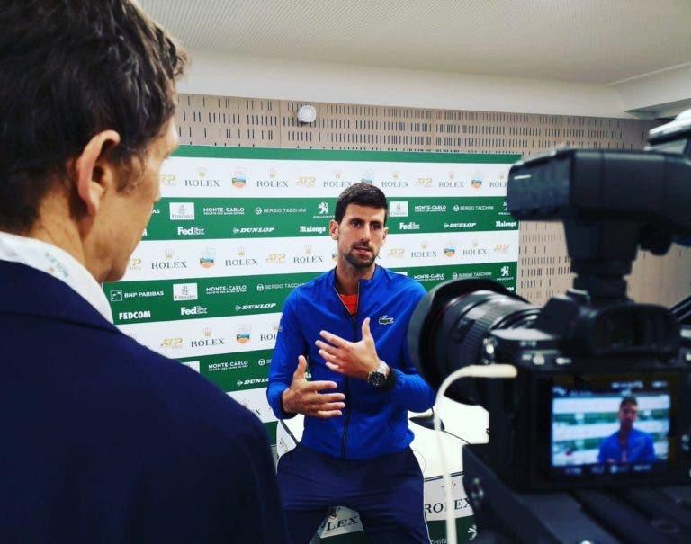 Djokovic cauteloso com proposta insólita de Tipsarevic: «Temos de respeitar a história a tradição dos Grand Slams»