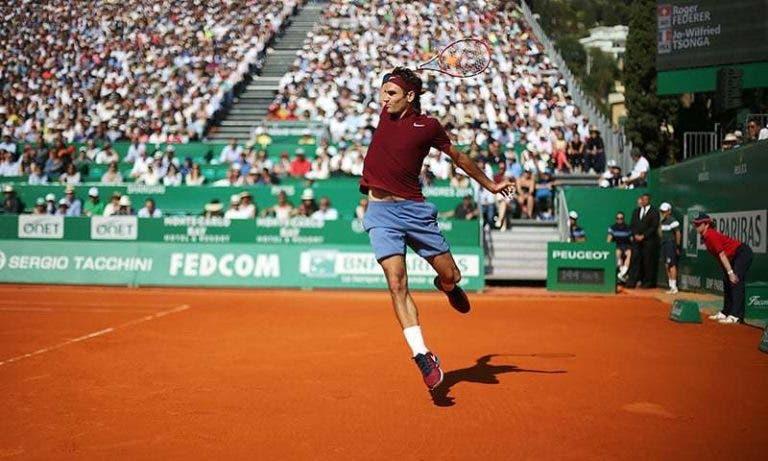 Federer é o quinto favorito à vitória de Roland Garros