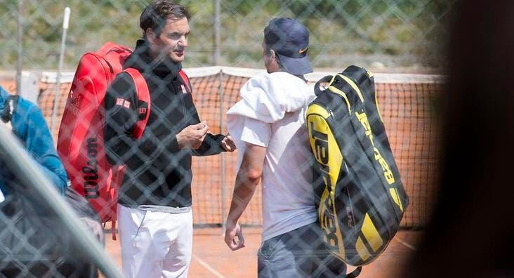 Federer convidou jovem craque para treinar com ele em terra batida