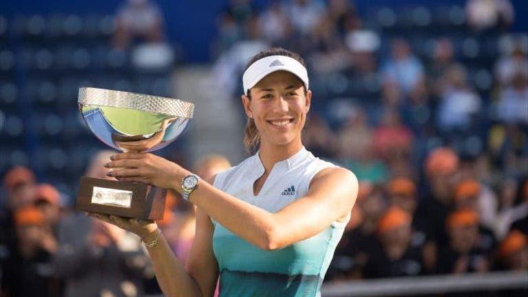 Muguruza satisfeita com o título em Monterrey: «Joguei o meu melhor ténis durante toda a semana»