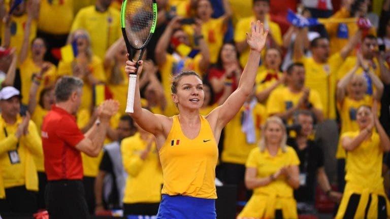 Meias-finais da Fed Cup empatadas, com Halep, Barty e Garcia em destaque