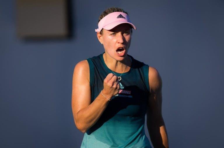 Kerber marca duelo de campeãs com Sharapova em Maiorca