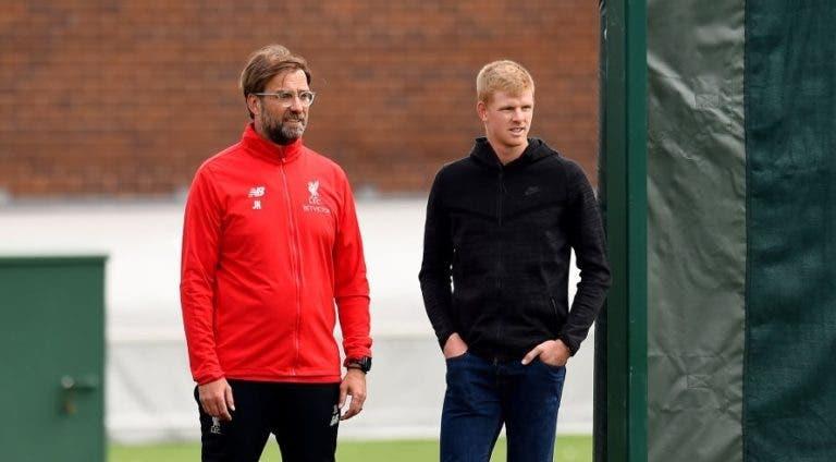 Edmund visitou o seu Liverpool no dia em que o título ficou mais longe