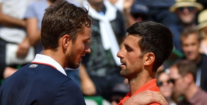 Medvedev e o triunfo sobre Djokovic: «É o melhor da minha vida»