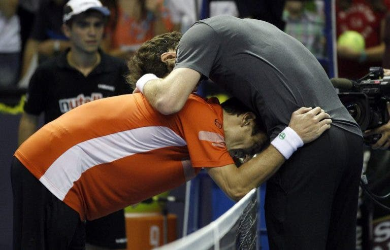 A final contra Murray que Robredo considera ser superior à de Wimbledon 2008 entre Federer e Nadal