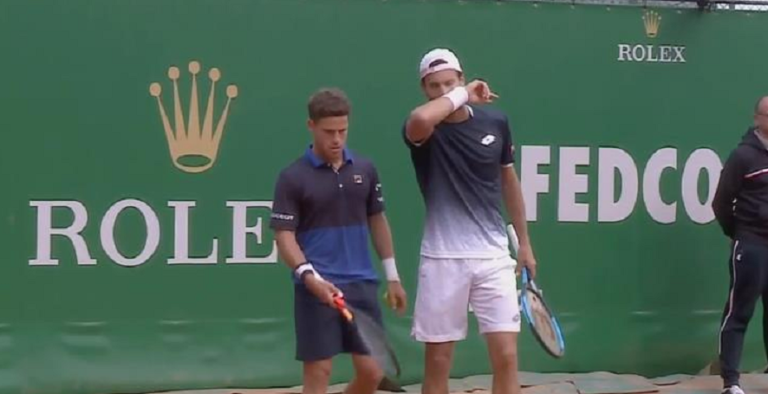 Sousa e Schwartzman batem uma das melhores duplas do Mundo rumo aos 'quartos' no Mónaco