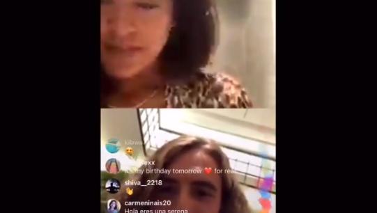 [VÍDEO] Osaka fez um direto no Instagram com… Tsitsipas