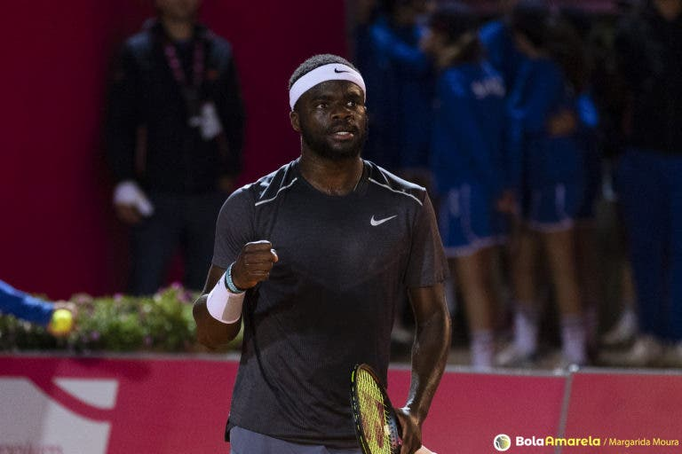 Tiafoe: «Quero que as crianças negras se inspirem em mim e joguem ténis»