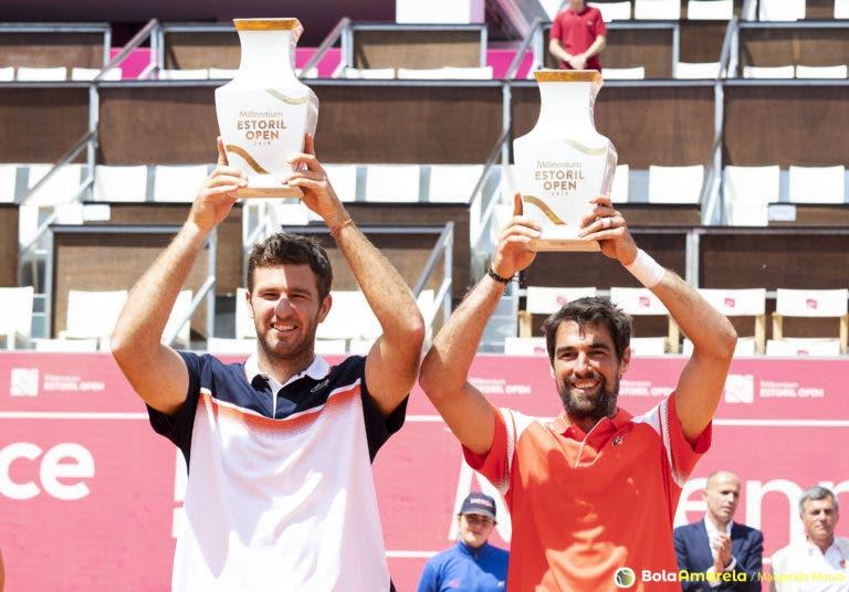 Franceses Chardy e Martin são campeões de Pares do Estoril Open